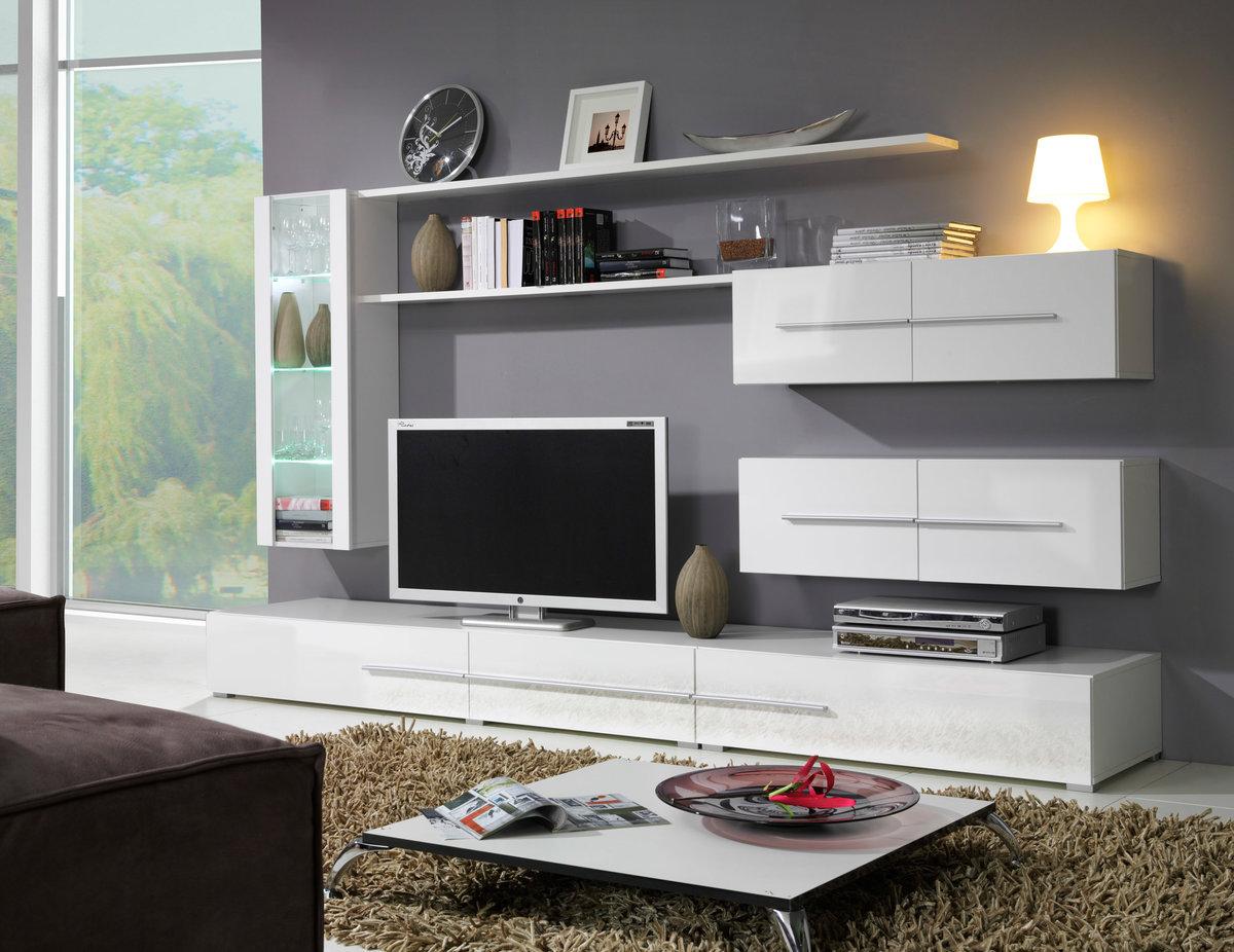 وحدة تلفزيون حسب غرفة المعيشة